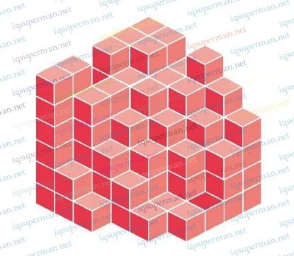 立方体砖块快速判断