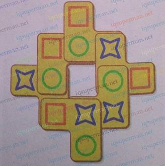 直角形图案