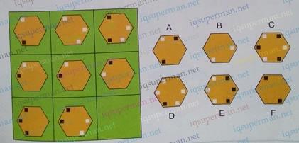 令人困惑的黑白点六边形