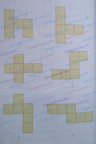 折叠正方体的图形