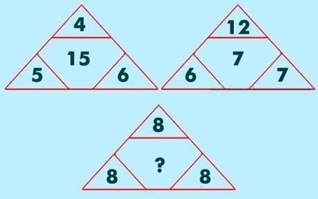 三角形中的数字是什么?