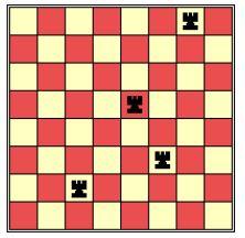 棋盘上的正方形