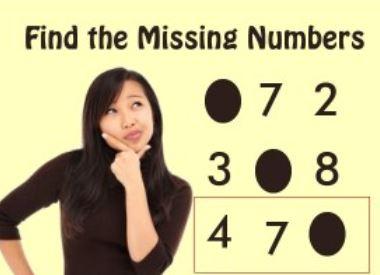 奇怪的数字谜题