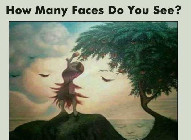 这里有几张脸?