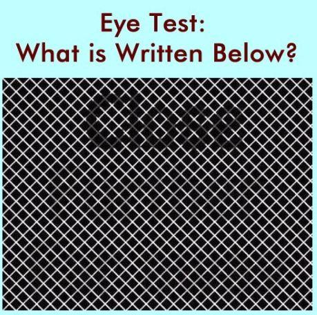 视觉测试一则