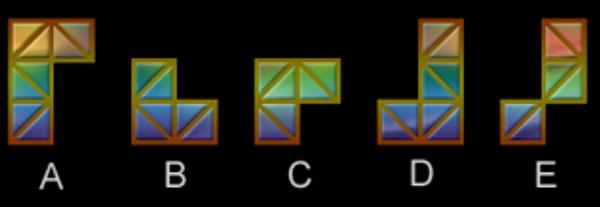 奇怪的正方形组合找规律